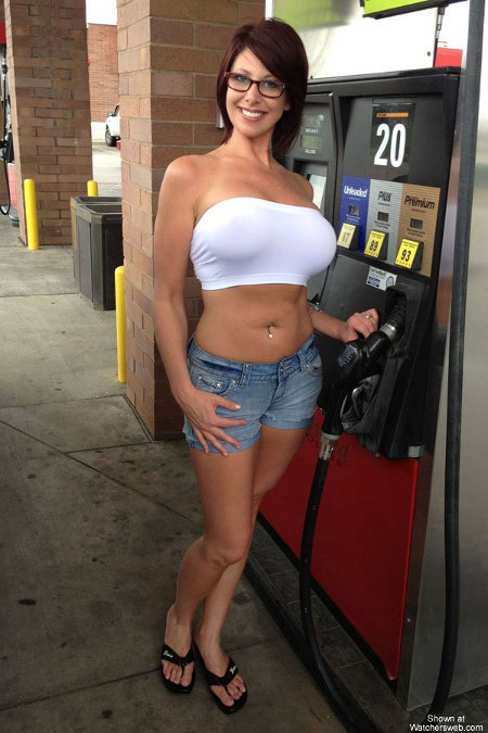 "I could better tolerate the high gas prices if the pumps were ""full service."""