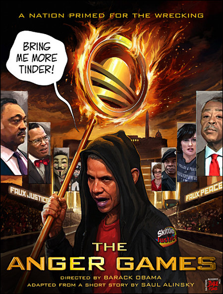The Anger Games - Starring Obama