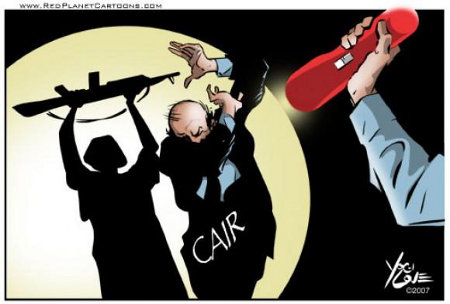 CAIR - Terrorists Shadow