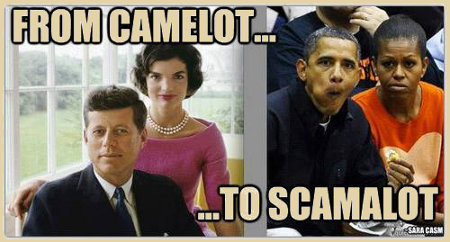 From Camelot to Scamalot - Kennedy to Obama, the death of America