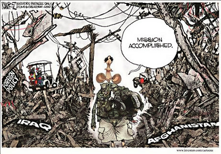 Obama - Mission Accomplished