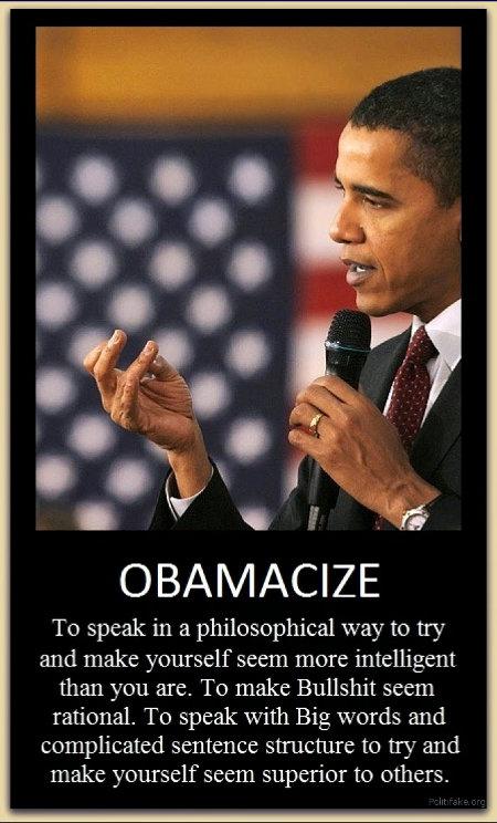To Obamacize