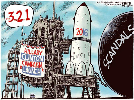 Hillary's campaign will need heavy lift capabilities to get off the ground