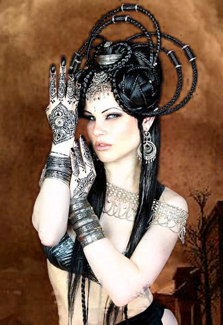 Gothic Belly Dancer