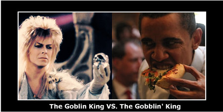 The Goblin King vs. The Gobblin' King