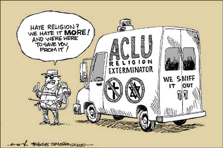 Anti-Christian Litigation Union (ACLU)