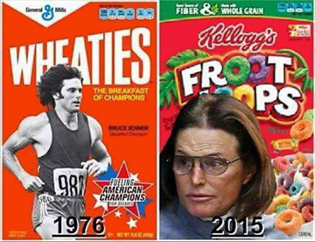 wheaties to froot loops