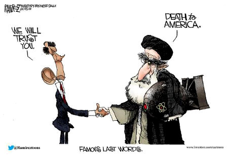 Obama and his Iran Nukes Deal