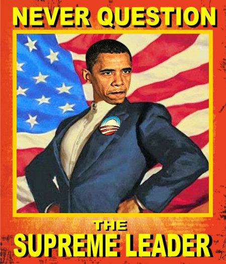 Never Question Obama