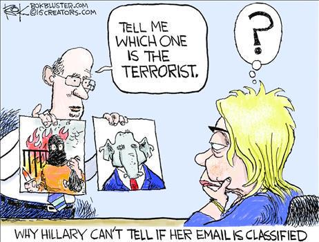 Hillary has problems identifying terrorists