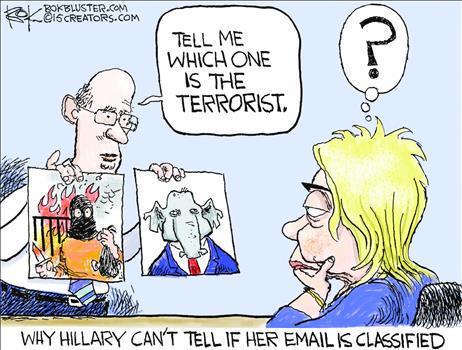 Hillary has problems identifying terrorists