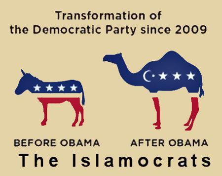 From Democrat to Islamocrat in one illegitimate POTUS
