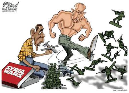 Putin Bullying Obama
