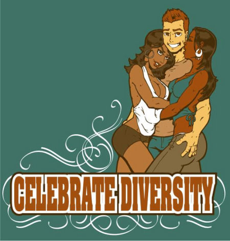 Gentlemen, please celebrate diversity whenever possible