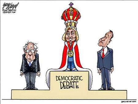 Debating Hillary