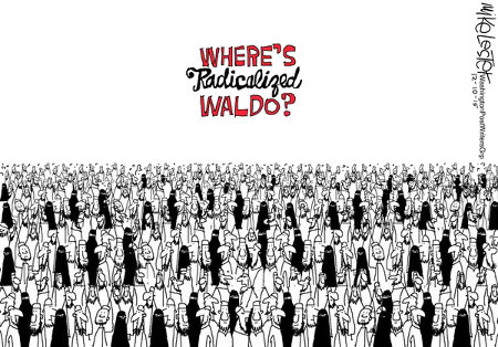 Where's Radicalized Waldo?