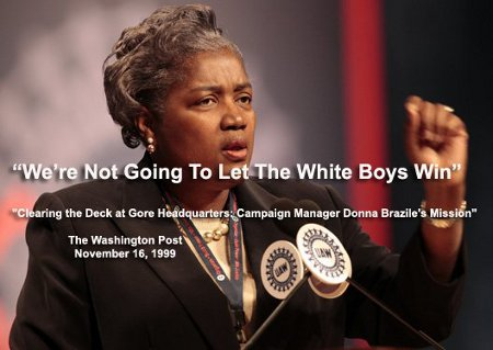 We're not going to let the White boys win