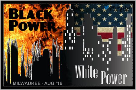 Black Power vs White Power