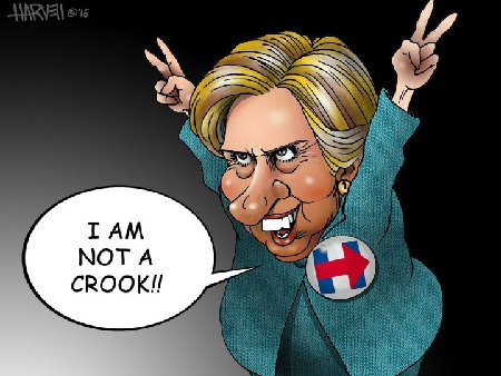 Fact: Hillary Is Not a Crook