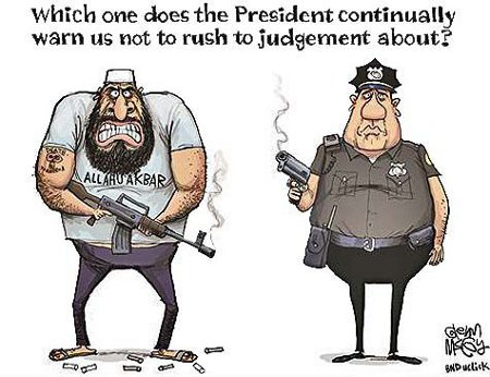 Obama's Judgement - Pro-Islam. Anti-Police