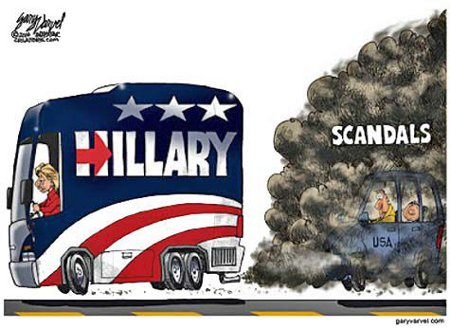 Hillary's Campaign Stinks