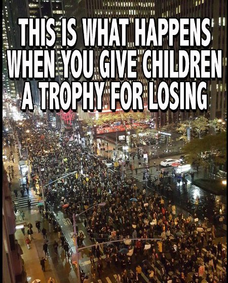 Modern Trophyism - This is what happens when you give children a trophy for losing