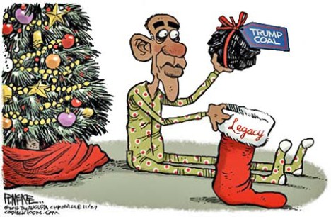 Obama's Coal Black Yule
