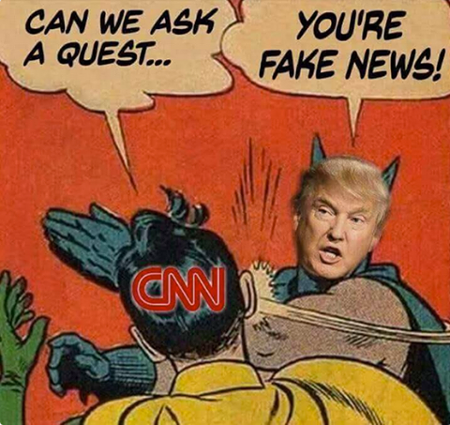 Slap! You're Fake News!