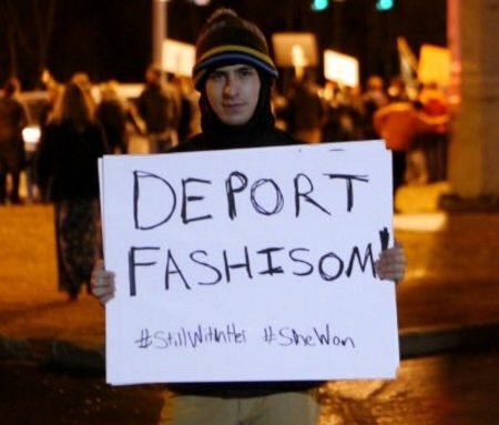 Deport Them! Deport Fashisom