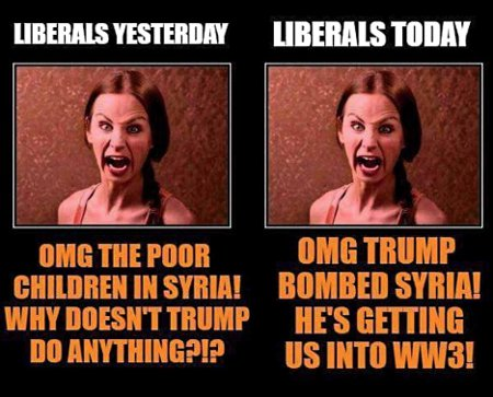 Liberals' Fluidity Of Offense