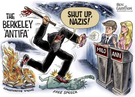 Berkeley Antifa - Ironically Fascist