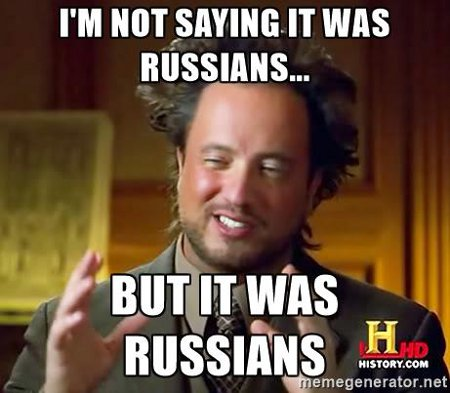 It Was The Russians