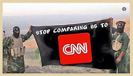 An Invidious Comparison- Not even ISIS likes being compared to CNN