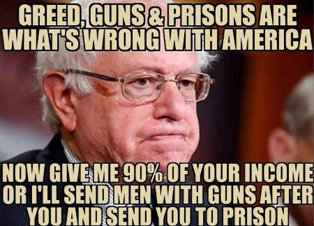 What's Wrong With Bernie Is That He's a Hypocrite And A Failure