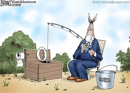 Dems Fishing At The Shithole
