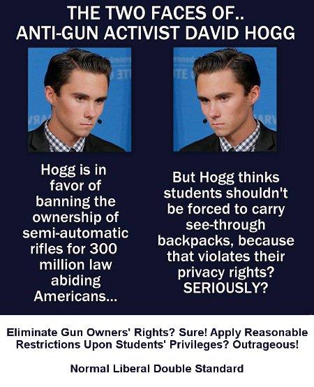 Hogg's Hypocrisy