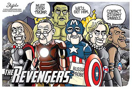 Democrats - They Would Be Heroes - The Revengers