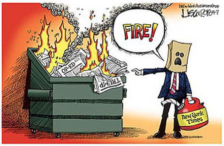 Where There's Smoke There's Probably An MSM Arsonist
