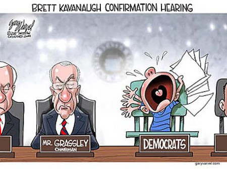 Dems at the Kavanaugh confirmations. Hearing them Cry is equal parts annoying and affirming