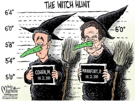Mueller's Witches - Cohen and Manafort