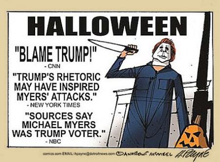 Blaming Trump