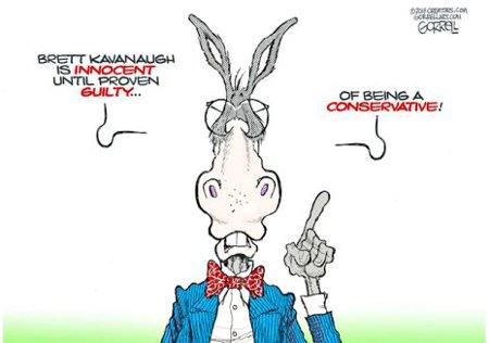 Dems' Due Process - Innocent Until Proven Conservative