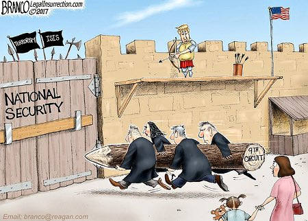 Always Check Your Six! There's Dems Within The Walls, Especially The Traitors Of The 9th Circuit Court