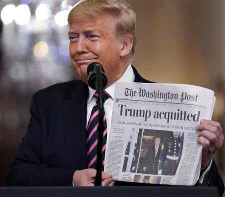 Oh Yeah, President Trump Was Acquitted