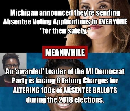 Trump Isn't Wrong! Mass Absentee Voting Is