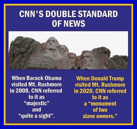 CNN's Monumental Bias