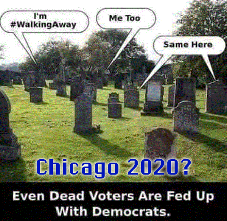 Even The Dead Are #WalkingAway