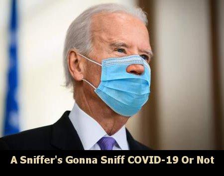 Biden's Gotta Sniff