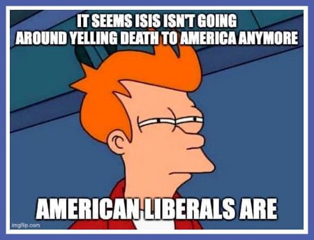 With President Trump Things Have Changed  Now, It's Not ISIS Yelling Death To America; It;s Liberals Doing So