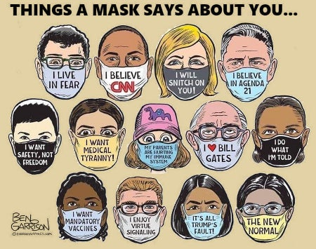What Your Mask Says